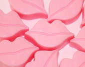 10 Lip Soaps/ Party Favors/ Teen soaps / Gift for her