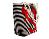 Large Cotton Tote Bag : Shopping Bag - Beach Bag - Groceries Bag - Cotton Handles