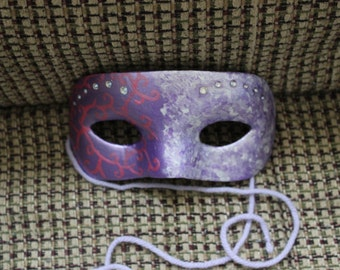 Listing Closing Sale! Masquerade Mask in Purple Free Shipping in the USA
