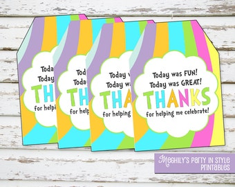 INSTANT DOWNLOAD - Oh The Places Youll Go Favor Tags - Generic