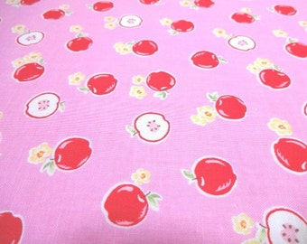Japanese Fabric LECIEN Flower Sugar Apple Flower Pink FQ