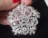 Crystal Wedding brooch, bridal brooch, rhinestone diamante brooch pin, crystal brooch bouquet, bridal accessories, swarovski brooch pin