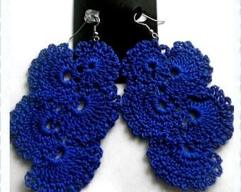 Cascading Crochet Earrings