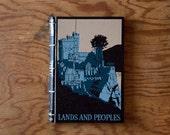 vintage handmade journal ...