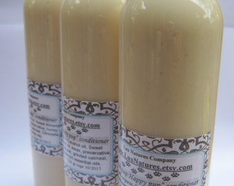 Oatmeal Essential oil combo of dog shampoo and conditioner free shipping