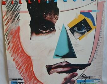 Vintage Record Billy Squier: Signs of Life Album SJ-12361