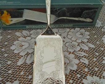 International Silver Company Silverplated Lasagne Server - Wedding Present