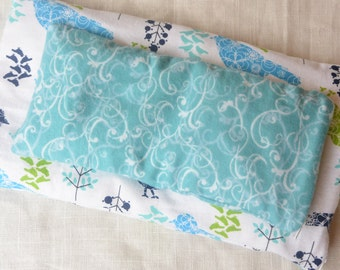 Natural Eye Pillow ONLY... Customize Scent (With Natural Essential Oils and Herbs), Custom Fabric, Custom Size Available
