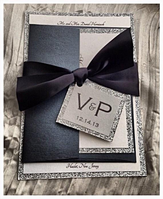 Black Tie Wedding Invitation Wording: Black Tie Wedding Invitations, Black Tie Affair, Formal