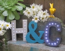 """Marquee Letter - Battery Operated, 8"""", LED"""