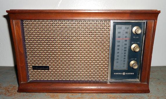 Ge vintage radio Etsy