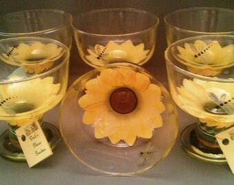 Sunflower Dessert Dish