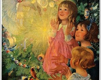 Vintage Image 1917 From DELINEATOR MAGAZINE.  - Vintage Image   - Children's Art - Fantasy Art