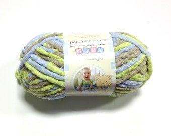 Bernat Baby Blanket Yarn In Little Baby Boy Dove New Color
