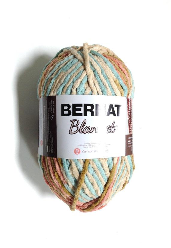 Bernat Big Blanket Yarn Sailors Delight Large Skein 300
