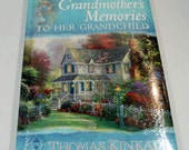 Memory Book - Grandmother's Memories To her Grandchild, Keepsake for Grandchildren, Grandma's Memories Family History - Thomas Kinkade Cover