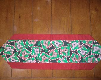 Table Runner - Christmas - Rudolph & Clarise