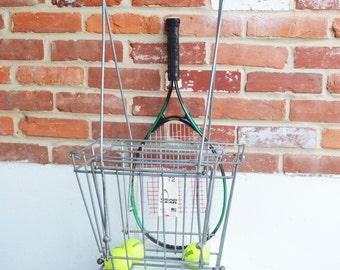 Vintage Head Gear 72 Professional Tennis Ball Basket, Hopper, Made in U.S.A.