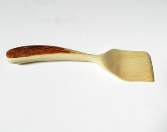 Hand Carved Maple Spatula