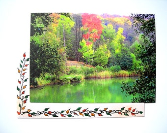Postcard according to one of my photos accompanied with his(her,its) decorated envelope.
