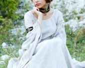 "DISCOUNTED PRICE! Linen Chemise ""Archeress""; Fixed Sizes; Ready to Ship; Medieval Renaissance Dress; Discounted Price"