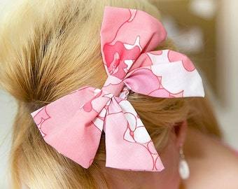 items similar to spring hair bow for baby toddler
