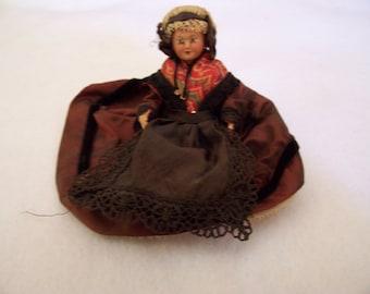 Vintage celluloid doll - Polish costume
