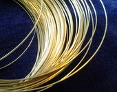 22 Gauge 18k SOLID Yellow Gold Dead Soft Round Wire 100% RECYCLED Made in USA Gold 22g 22ga 18k Yellow Gold Wire