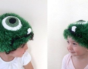Monster Hat - One Eye - Knitting Hat-