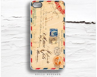 iPhone 7 Case Airmail Envelope Ephemera iPhone 7 Plus iPhone 6s Case iPhone SE Case iPhone 6 Case iPhone iPhone 5S Case Galaxy S6 Case V14