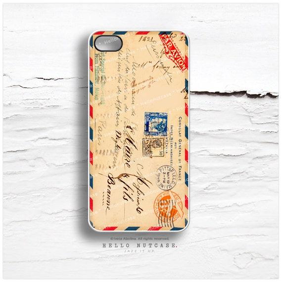 iPhone 6 Case Airmail Envelope Ephemera iPhone 6s Case iPhone 5s Case iPhone SE Case iPhone 6s Plus Case Samsung Galaxy s6 iPhone 6 Plus V14