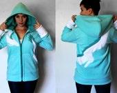 Haku -- Handmade Anti-Pill Fleece Hoodie / Sweatshirt