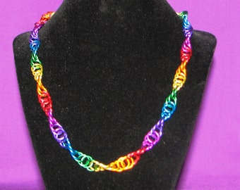 Color 2 - way Chainmail Necklace