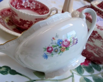 "Porcelain ""Bouquet"" Creamer"
