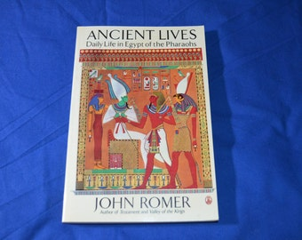 ON SALE  Book-Ancient Lives-Daily Life in Egypt of the Pharaohs