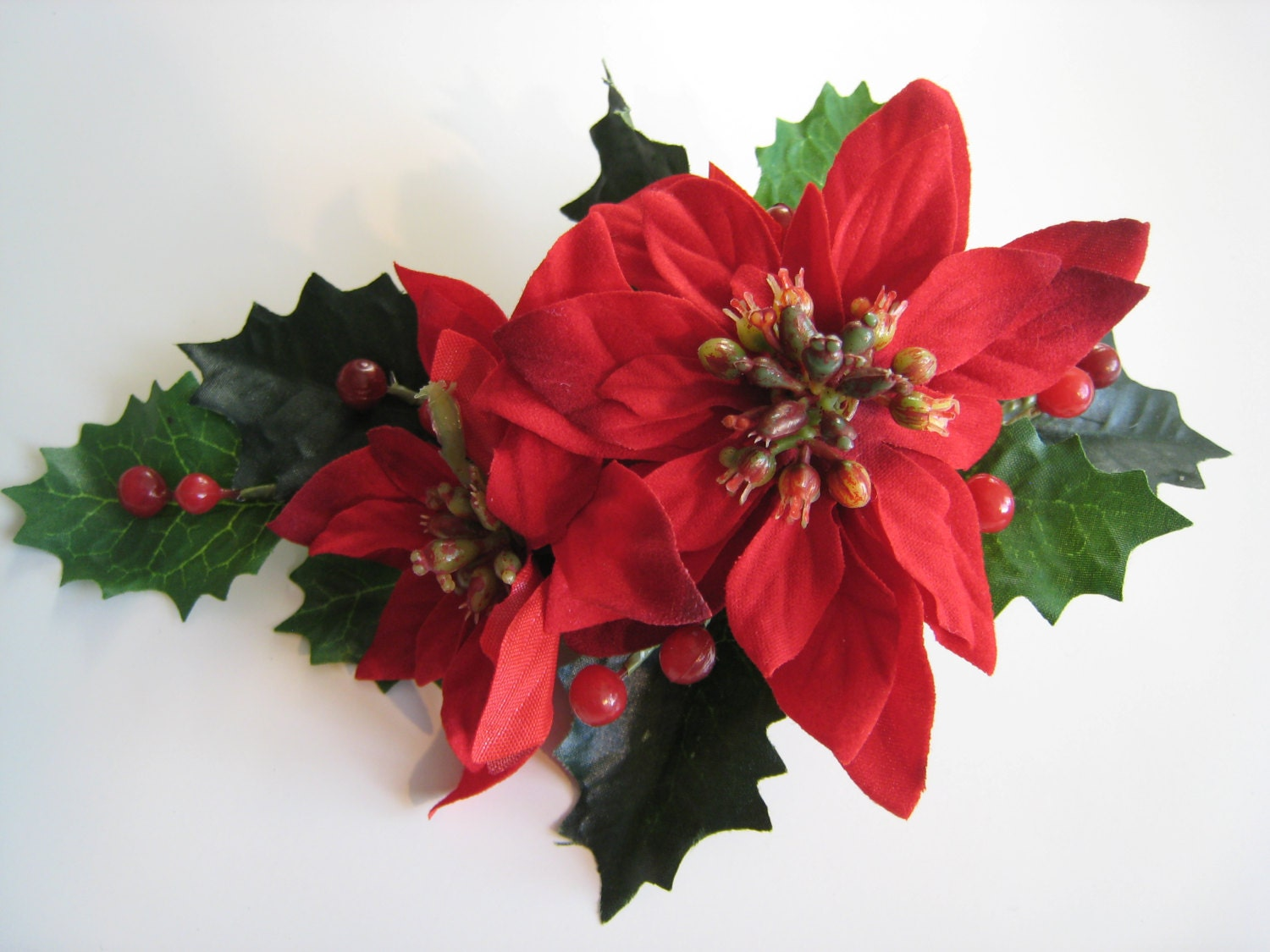 or red poinsettia - photo #42