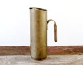 Vintage Italian Brass Pitcher