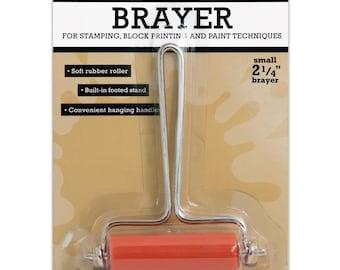 """Small 2-1/4"""" Inky Roller Brayer - Ranger"""
