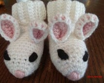 Little Bunny Just in time for Easter socks slippers