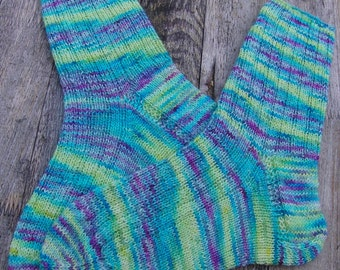 Hand Knit Socks  for Women UK 5-7, US 7-9 Nr. 16
