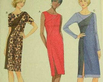 "Dress , Seam Detail - 2010's - Butterick Pattern 5852  Uncut   Sizes 14-16-18-20-22  Bust 36-38-40-42-44"""