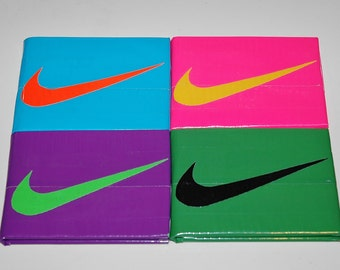 Duct Tape Wallet: Nike