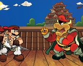 Super Mario Fighter Poster