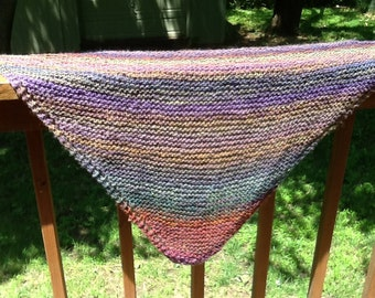 Italian Wool Triangular Shawl