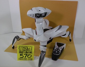 1990's Wowee Spider Robot and Controller