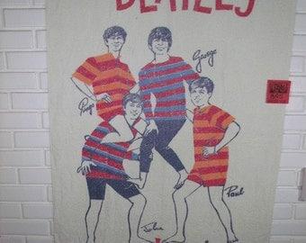 1960's The Beatles beach towel-Yeah Yeah Yeah!