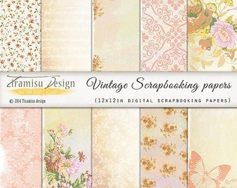 Scrapbook Papers and Digital Paper Pack 31