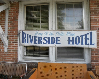 Home of the Delta Blues, Riverside Hotel, Music Inspired Photo, Fine Art Photograph, Color Photographs