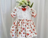 Baby, Girl, Five Month, Six Month, Seven Month, Party Dress, Special Occasion