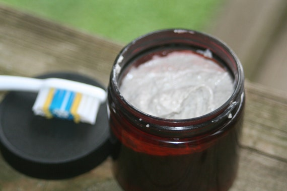 All Natural Remineralizing Toothpaste made with Organic ingredients Purely Peppermint essential oil 4ozs